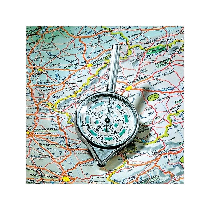 Instrument de masurat distanta pe harti